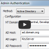 Admin Authentication video
