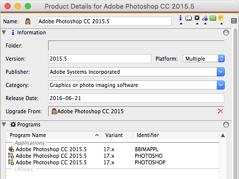 New version of Photoshop CC
