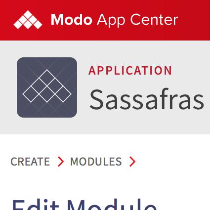 Modo App Center