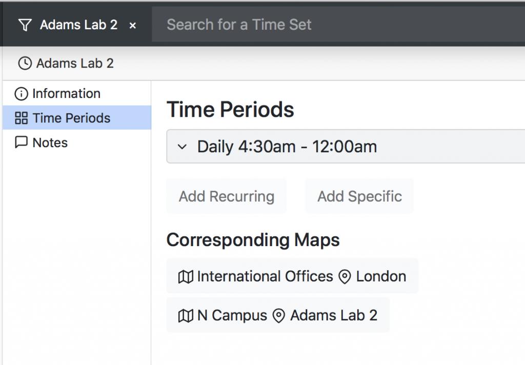 Lab Time Sets