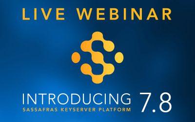 Live webinar 7.8